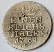 German states, Prussia, 1/12 Einen Thaler 1764 F - Friedrich II