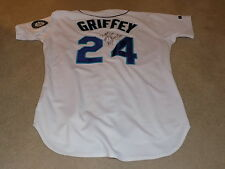 Ken Griffey Jr Game Worn Signed Jersey 1995 Seattle Mariners
