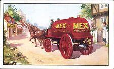 Advertising. Anglo-Mexican Petroleum Co, Brockenhurst. Mex Motor Spirit.