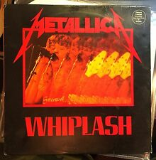 Metallica Whiplash LP Megaforce '85 EP LP Silver Label Original 1985