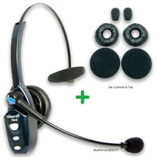 Blueparrott B250-XT with Ear/Mic Refresher Cushion Kit Bluetooth Headset