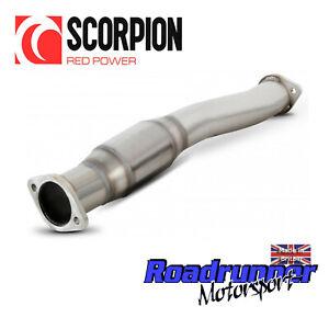"Scorpion Focus RS MK2 Hi Flow Sports Cat 3"" Exhaust 200 Cell ST225 SFDX066 New"