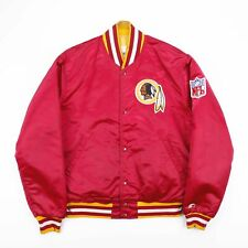 Vintage STARTER NFL Washington Redskins Varsity Bomber Jacket Mens Size Medium