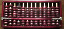 Vintage Chinese ABACUS with 91 Rosewood Beads (Very Good)