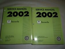 2002 PONTIAC BONNEVILLE SERVICE MANUAL