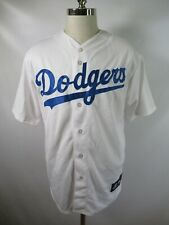 E4595 VTG MAJESTIC Los Angeles Dodgers MLB Baseball Jersey Size L