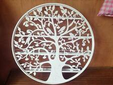 Nail Polish Rack Organizer Round White Tree Design Gel OPI Beauty Wall Mounted