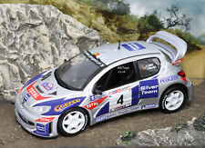 Rally Car Collection Peugeot 206 WRC Rally Mille Miglia 2003 M.Campos 1:43 Model