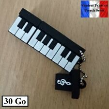 1 Clé USB 2.0 NEUVE 30Go ( USB Flash Drive 30Gb ) - Piano Musique Music