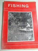 Vintage 30th August 1963 FISHING The Magazine For The Modern Angler +Advertising