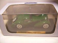 voiture d'exception 1/43 eme BUGATTI ATALANTE Coupé 1939 Neuf Metal