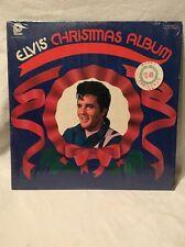 ELVIS PRESLEY CHRISTMAS ALBUM LP in SHRINK CAS-2428 Record Mint