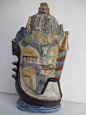 Bardi CHURCH & GONDOLA decanter like JIM BEAM made in ITALY 4304