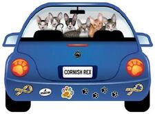 Cornish Rex Cats-Pupmobile Magnet