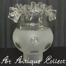 Antique Plafonnier Lustre Abat-Jour Verre de Rechange Lampe à Pétrole