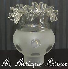 Antik Deckenlampe Kronleuchter Lampenschirm Glas Ersatzglas Petroleumlampe Lampe