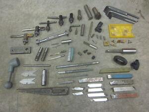 Machinist Lathe Mill Cutoff Holder Handle Carbide Insert Tools South Bend Atlas