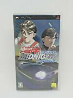 Sony PSP Playstation Portable WANGAN MIDNIGHT PORTABLE GENKI Japan Version