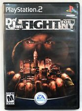 DEF JAM: FIGHT FOR NY Sony PlayStation 2 Video Game EA 2004 COMPLETE PS2