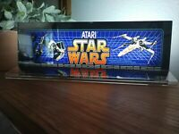 "STAR WARS Backlit 4"" x 11"" Marquee w/ The Arcade Light Display"