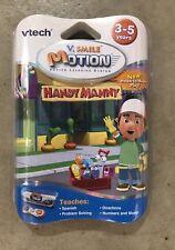 Handy Manny Vtech Vsmile Motion Game New