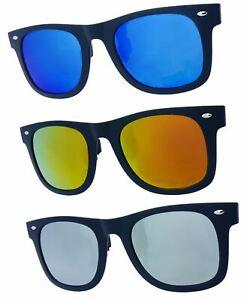 GoOpticians Quality Retro Style Polarised Clip On Flip Up Sunglasses Teen Adult