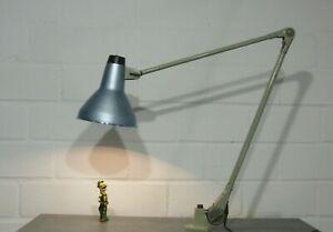 Vintage Industrie Design Rademacher Lampe Schreibtisch Werkstatt 50er 60er #2
