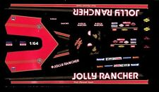 Todd Lesenko Jolly Roger Top Fuel Dragster 1/64th HO Scale Slot Car Decals