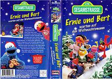 """VHS - """" SESAMSTRASSE - Ernie und Bert - Warten auf den Weihnachtsmann """""""