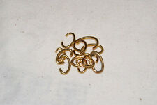 ASSORTMENT OF 12 GOLD COLOR BOWS FOR POCKET WATCHES NEW WATCH PARTS