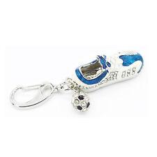 Fussball Schuh blau aus Metall -  USB Stick 8 GB Speicher / USB Flash Drive