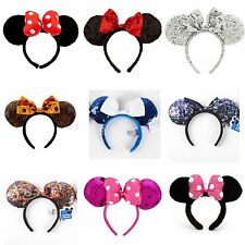 BRAND NEW WITH TAGS Minnie Mouse Princess Ears Headband Disney Land World Mickey
