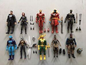 Marvel Legends 6in MCU Figure Lot B Punisher Black Widow Hasbro New Loose NR