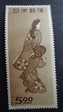JAPAN #422  VF+ ART PAINTING LADY LOOKING BACK Philatelic 1948 MNH