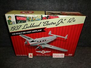 #24 WINGS OF TEXACO 1937 LOCKHEED 12A ELECTRA JR AIRPLANE REGULAR EDITION NEW A