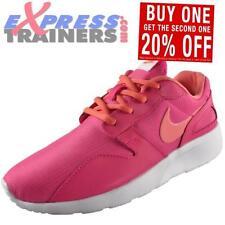 Chaussures roses à lacets en cuir pour fille de 2 à 16 ans