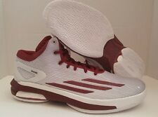 "adidas Crazylight Boost ""Team"" - White/Maroon"