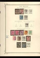 MINT & USED NEW ZEALAND COLLECTION - SCOTT PAGES IN SCOTT ALBUM CV$2336.75
