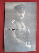 Foto oficial soldado i.r.96 con medalla cruz cruz 1914 y sables Pio