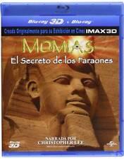 Momias: El Secreto de los Faraones Blu-ray 3D + 2D EN UN DISCO.