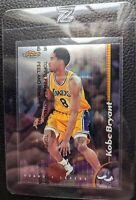 1998 99 FINEST W/ COATING #175 KOBE BRYANT LOS ANGELES LAKERS 3RD YEAR HOF