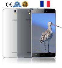 Koobee 5,0'' Android 6.0 4G Smartphone Handy 2G+16GB Quad Core Dual SIM GPS Blan