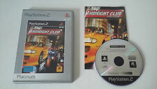 MIDNIGHT CLUB STREET RACING - SONY PLAYSTATION 2 - JEU PS2 PLATINUM COMPLET