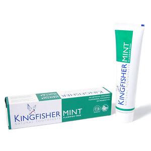 Kingfisher Toothpaste Mint Fluoride Free