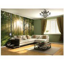 Forêt Verte Papier Peint Papier Peint Caractéristique Mur Nouveau Design Gratuit P + P