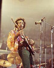 "Jimi Hendrix 10"" x 8"" Photograph no 5"