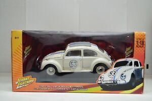 1:18 Herbie FullyLoaded Johnny Lightning VW Beetle #53 Diecast Model #51017