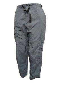 "Rei Women LARGE petite/28""L Hiking Convertible ShortsBelted Outerwear pants (#m2"