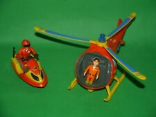 Fireman Sam Toys/Playset_Jetski_ + _Wallaby Helicopter with light and sounds_4
