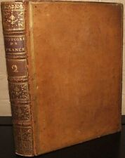 Histoire De France Tome Deuxieme. by M. L'abe Velly, 1770 full leather